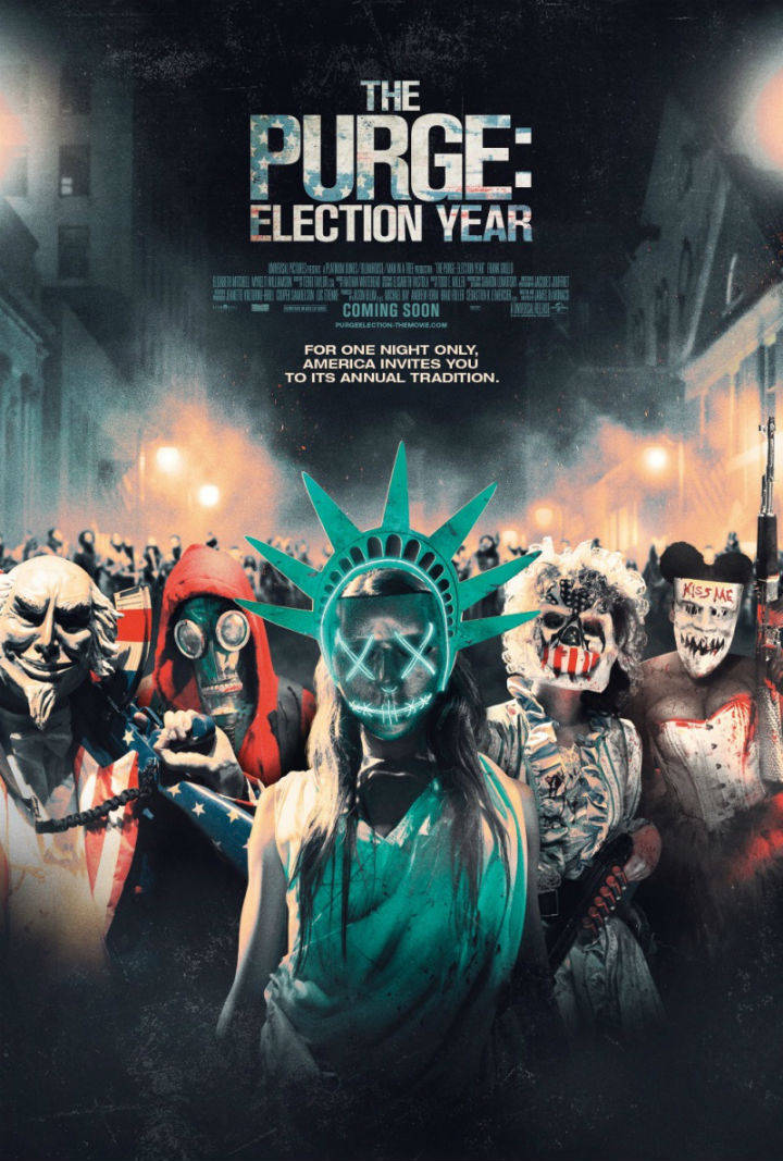 Судная ночь 3 / The Purge: Election Year (2016)