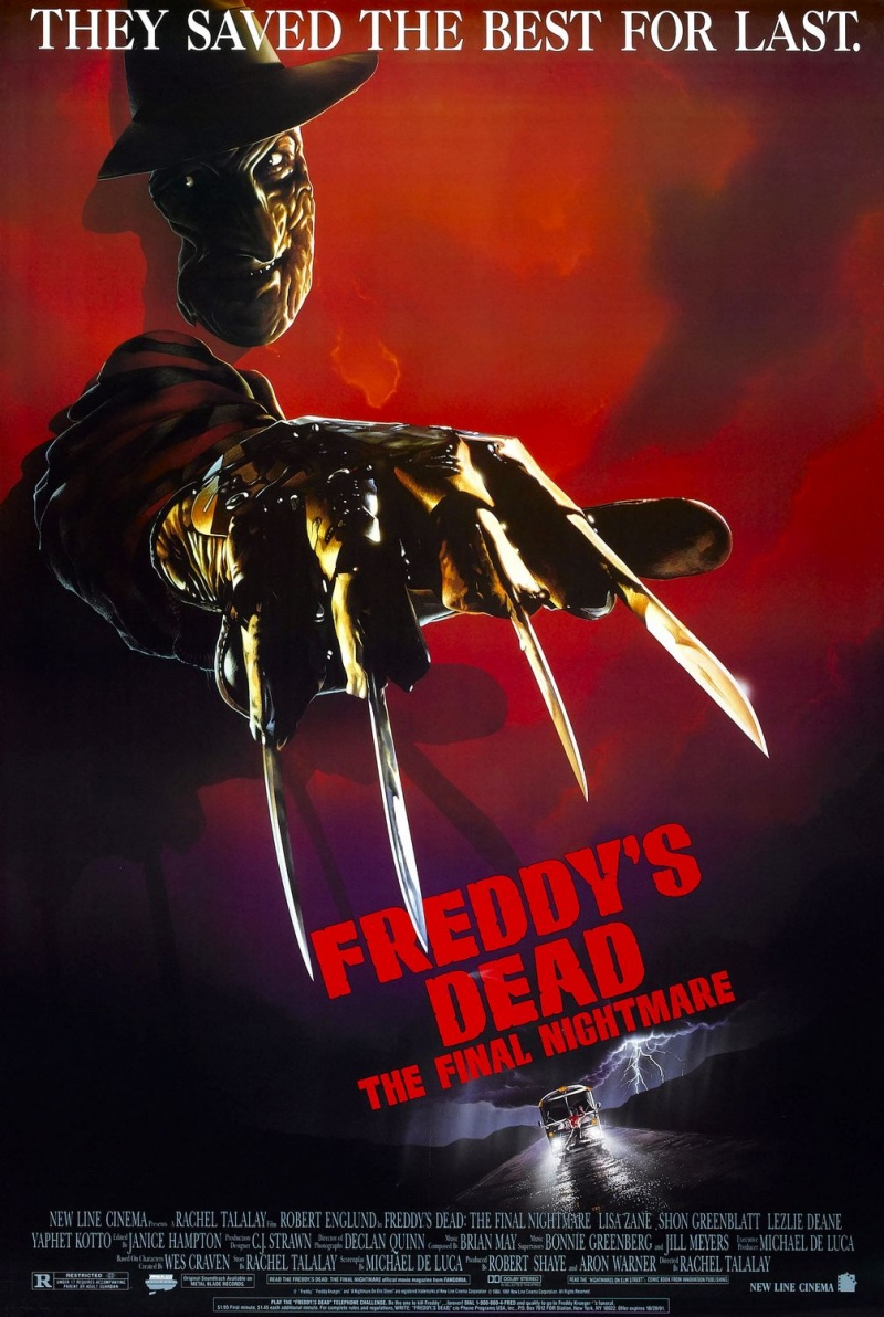Кошмар на улице Вязов 6: Фредди мертв / Freddy's Dead: The Final Nightmare (1991)