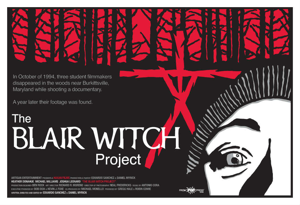 an analysis of the blair witch project a horror film